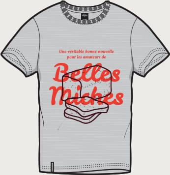 t-shirts le croque bedaine
