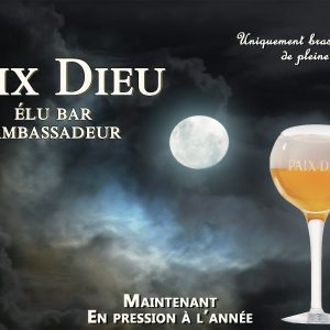 Brasserie Caulier: visite un soir de pleine lune