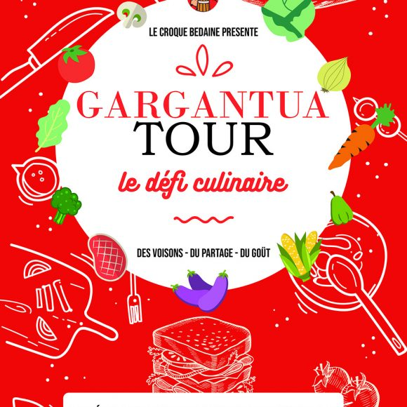Le Gargantua tour: un défi culinaire !